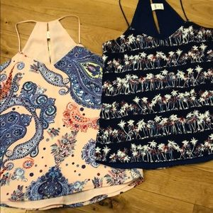 Express Barcelona Camis size XS